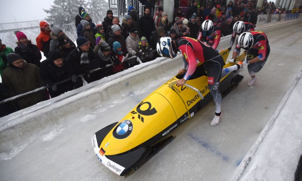 Johannes Lochner wins 4-Man Bobsleigh World Cup in Winterberg