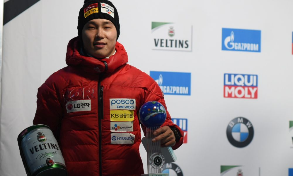 Sungbin Yun wins Winterberg World Cup ahead of Martins Dukurs and Dave Greszczyszyn