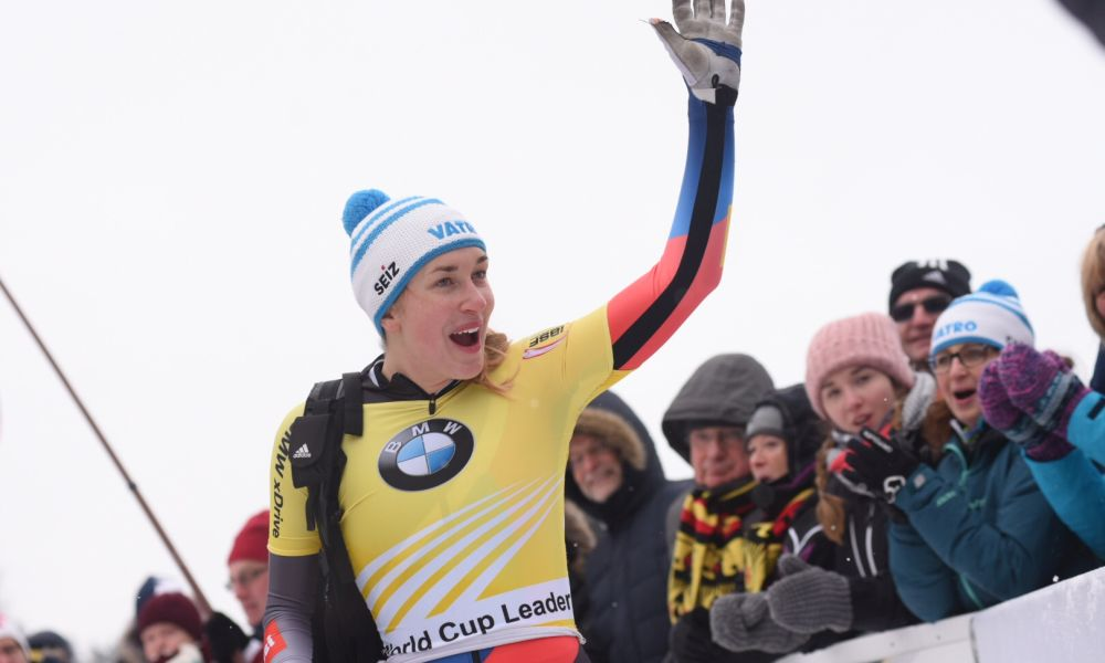 Jacqueline Lölling wins Skeleton World Cup in Winterberg
