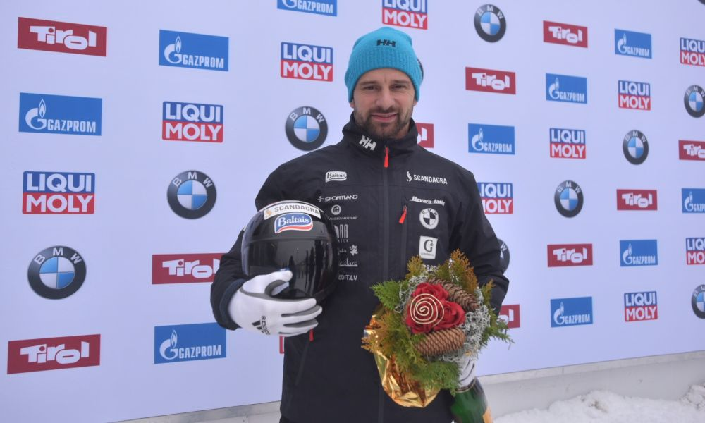 European Championship gold and 50th World Cup win for Martins Dukurs