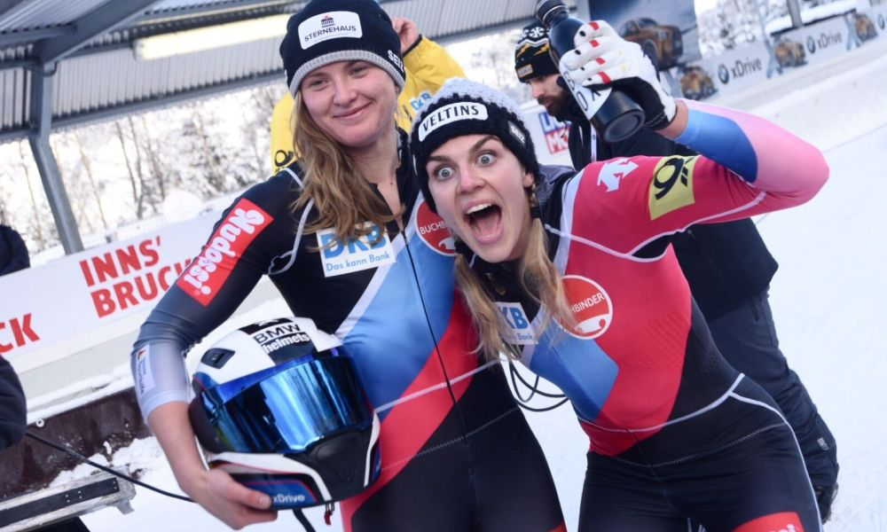 Stephanie Schneider wins European Championships and World Cup in Innsbruck
