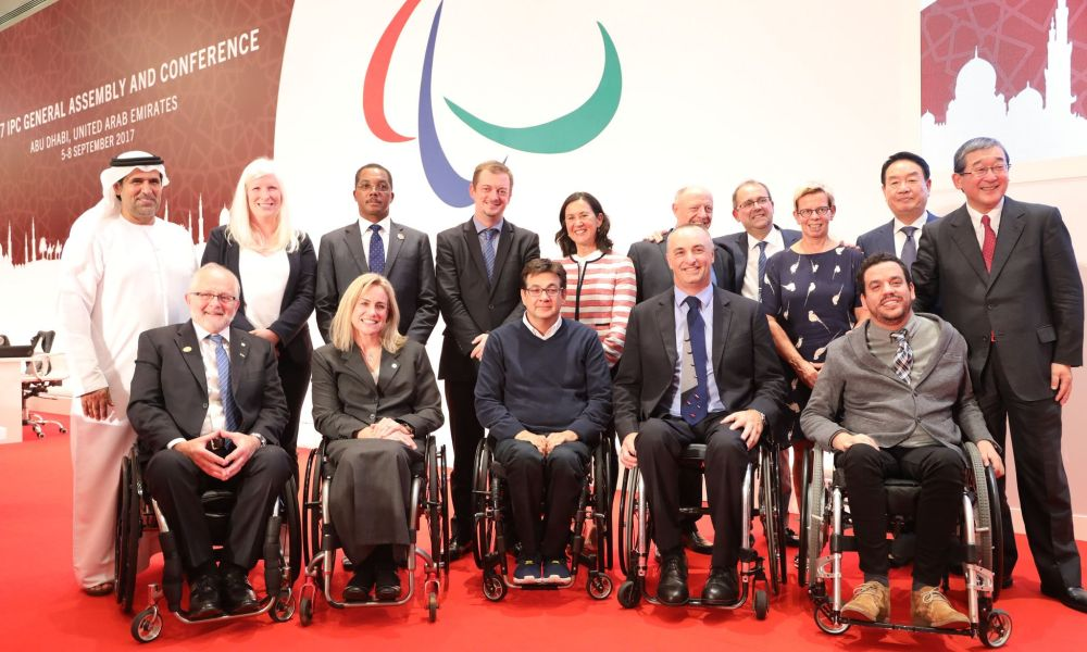 Andrew Parsons new president of the International Paralympic Committee