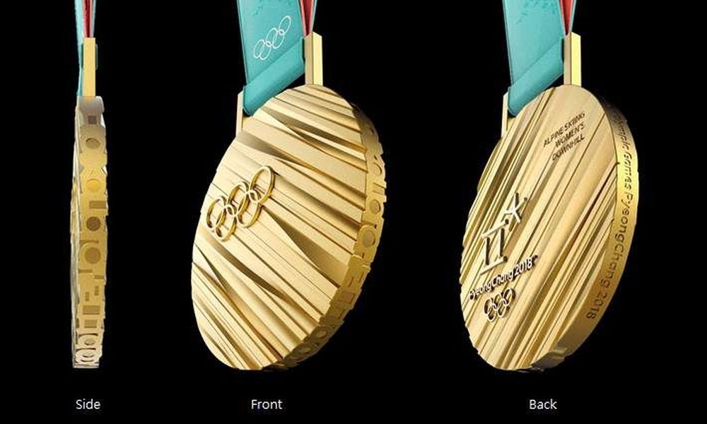 Medals for PyeongChang 2018 Olympic Winter Games unveiled