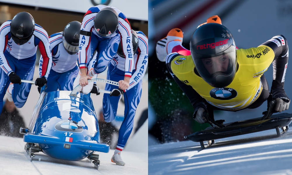 For future bobsleigh and skeleton athletes – the current test camps