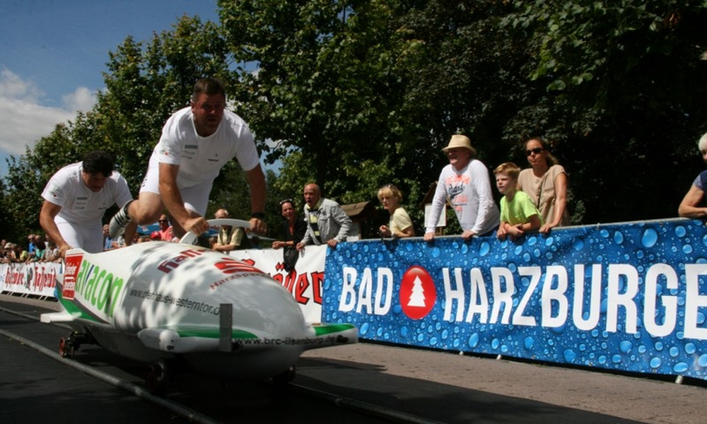 21st International Summer Bobsleigh and Skeleton Cup in Ilsenburg on July 6-7