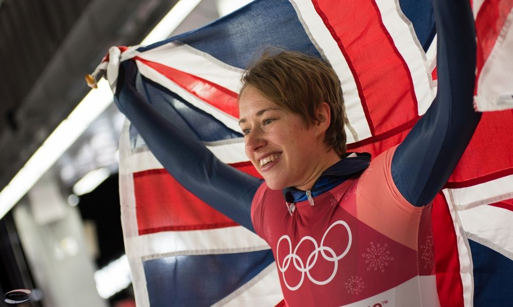 Olympic Champion Lizzy Yarnold honoured with Order of the British Empire